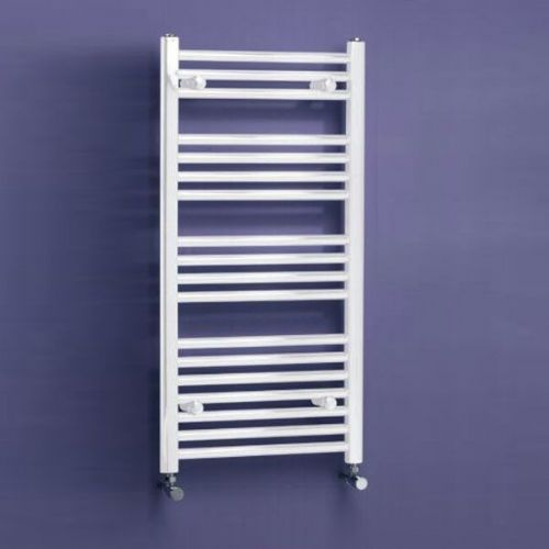 Kartell K Rail Premium Straight Towel Rail - 400mm x 750mm - White